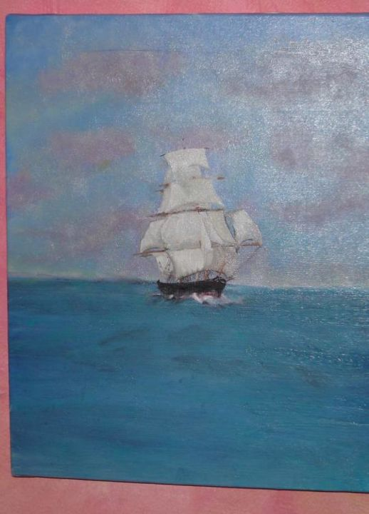 marine - Painting, ©2004 by Véronique ROCHE -