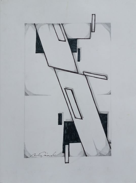 Composition Drawing By Daniel Rohrbock Artmajeur