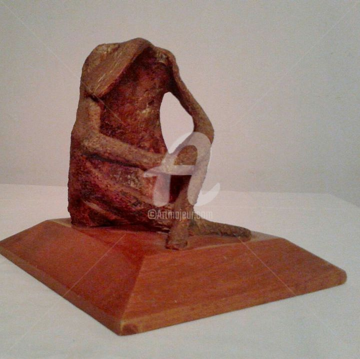 pensante - Sculpture ©1989 by juan rojas -