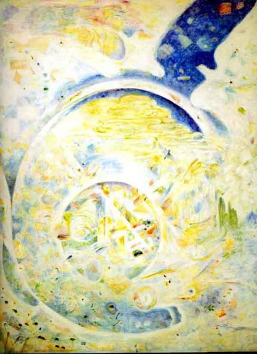 """Painting titled """"Air"""" by Ronald Newman, Original Art,"""