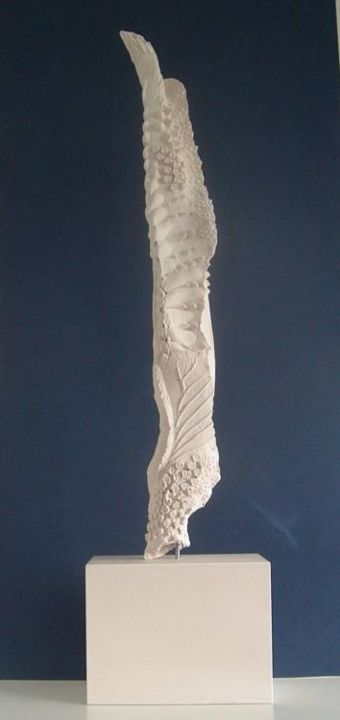 """Sculpture titled """"Tooth and Claw"""" by Rorie Brophy, Original Art, Stone"""