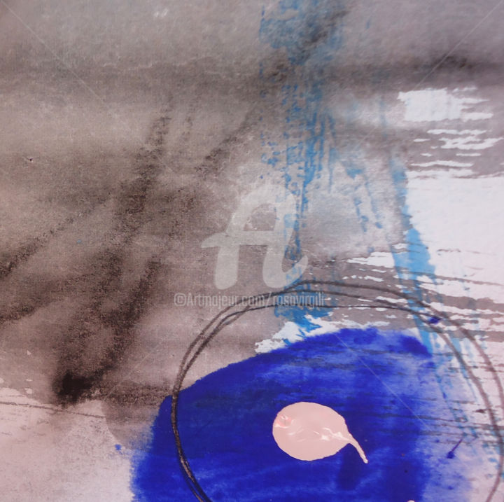 Buscant el blau //Looking for the blue - ©  generando arte, rosa virgili Online Artworks