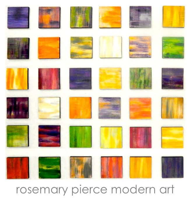 """Painting titled """"Color Blends 36 