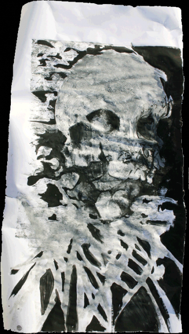 50 x 90 cm - ©2011 by Anonymous Artist