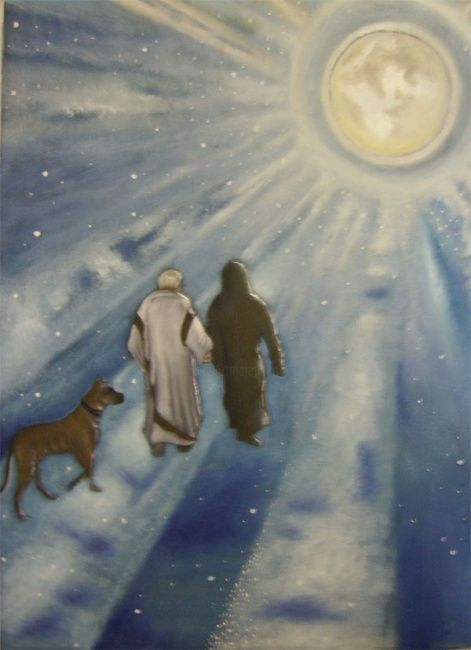 """Painting titled """"The Christ and Pila…"""" by Rws68, Original Art,"""