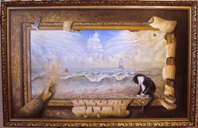 """Painting titled """"In the the search o…"""" by Rws1968, Original Art, Oil"""