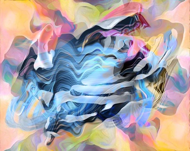 magic-finger.jpg - Digital Arts ©2017 by deColorado -                                                                        Abstract Art, Canvas, Love / Romance, People, dedo, magico, levitacion