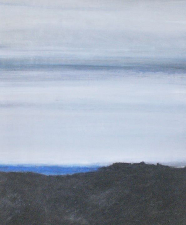 marine - Painting ©2016 by Sabine DUTILH -                                                        Contemporary painting, Other, Seascape