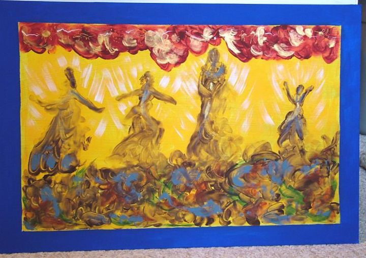 """Collages titled """"All Prayers to the…"""" by Sallymaria, Original Art,"""