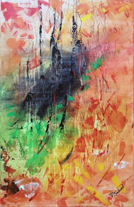 Unnamed No 06 Painting By Salotti Artist Artmajeur
