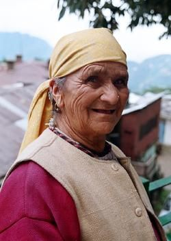 """Photography titled """"old lady"""" by Sandeep Singh, Original Art,"""