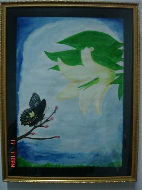"""Painting titled """"Dream"""" by Alan, Original Art, Oil"""