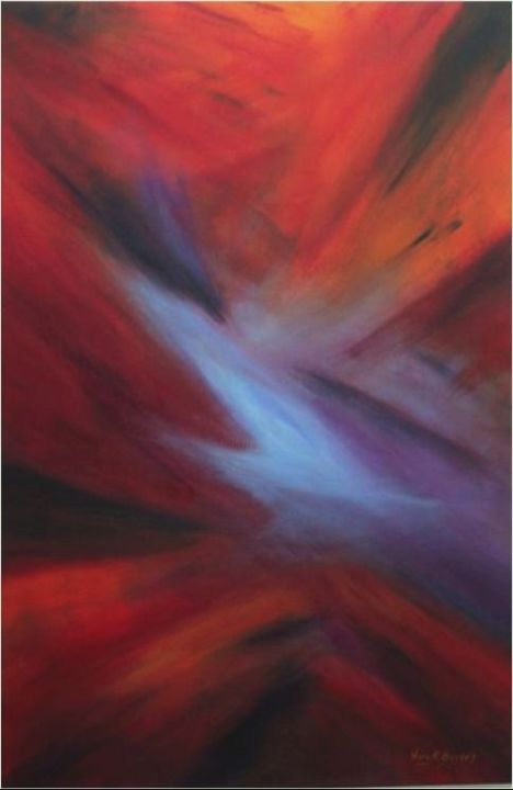 Space sunset from outer space - Sunset small spaces collection ...