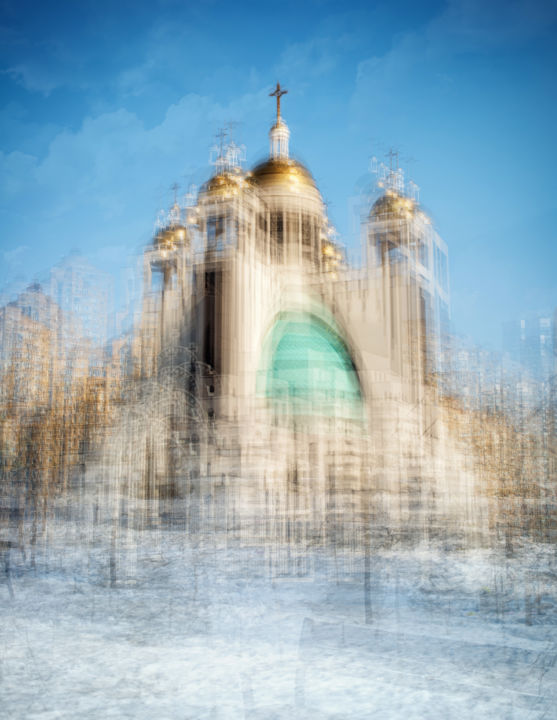 """Photography titled """"Cathedral of the Re…"""" by Sasha Rzhondkovsky, Original Art, Manipulated Photography"""