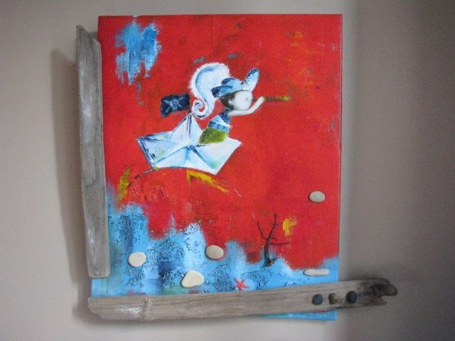 pirate titi - Painting ©2011 by stef b -