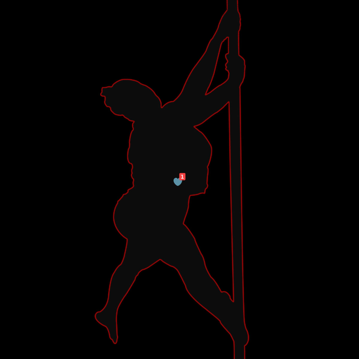 Pole dancing.jpg - ©  photo, illustration, Adobe Photoshop Dzieła online