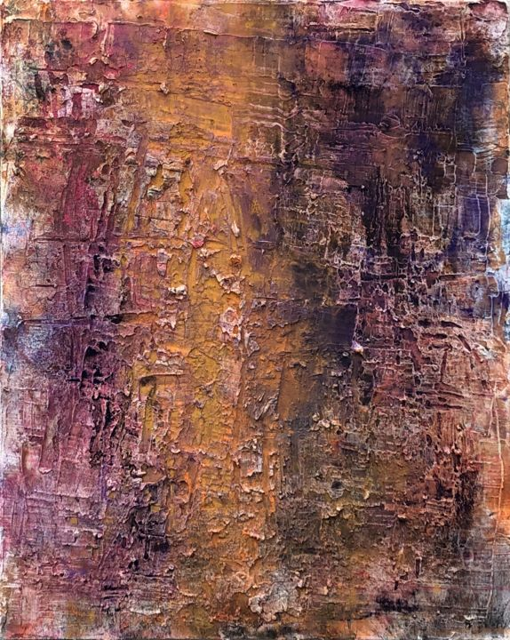 """Painting titled """"Mars"""" by Andreas Angleitner, Original Art, Pigments"""