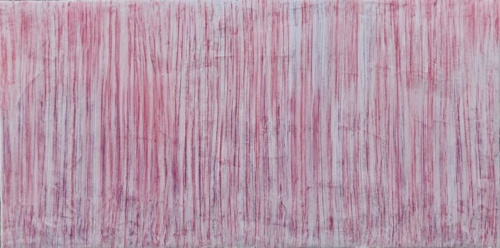 """Painting titled """"Candy Grass"""" by Andreas Angleitner, Original Art, Pastel"""