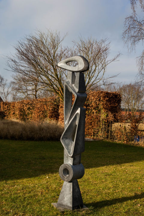 """Sculpture titled """"Equilibrium of the…"""" by Michael Levchenko, Original Art, Stone"""