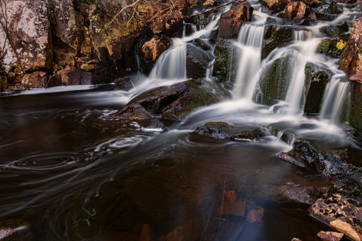 """Photography titled """"Water, Falls"""" by Sean O'Hare, Original Art, Digital Photography"""