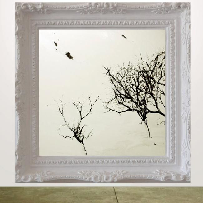 Invierno I (Pared) - Painting ©2010 by Sergio Decoster -