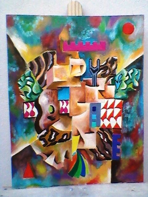Painting ©2012 by Marques da Silva -  Painting