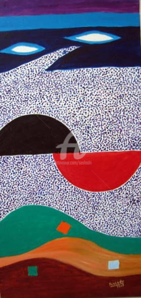 Business As Usual - Digital Arts,  22x30 in ©2007 by Seshadri -                            Expressionism, Expressionistic, Abstract, Corporate philosophy, contemporary, conceptual