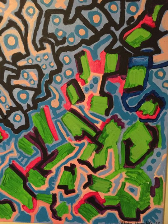 image.jpg - Painting, ©2019 by Steven G Humble -