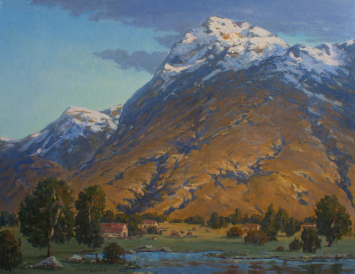 """Painting titled """"Valley of the Mount…"""" by Igor Staritsin, Original Art, Oil"""