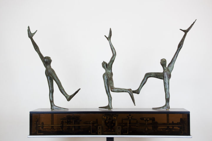 the dance of the joy of life sculpture by sharzhy artmajeur