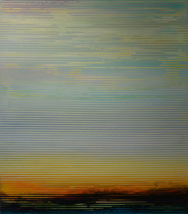 """Painting titled """"Weaving Landscape"""" by Shawn Skeir, Original Art, Acrylic"""