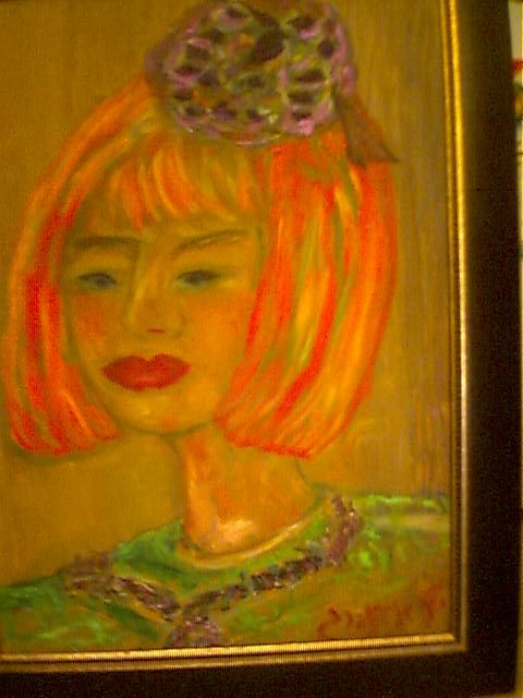 """Painting titled """"Ruth"""" by Shell Eizenberg, Original Art,"""