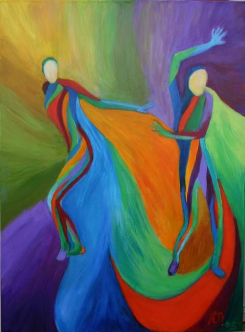 """Painting titled """"Redemption"""" by Janice Nelson, Original Art,"""