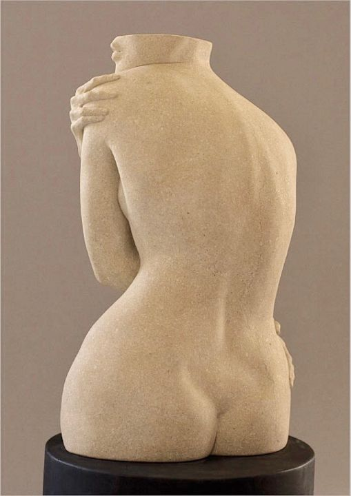 """Sculpture titled """"Embrace"""" by Sherry Tipton, Original Art, Stone"""