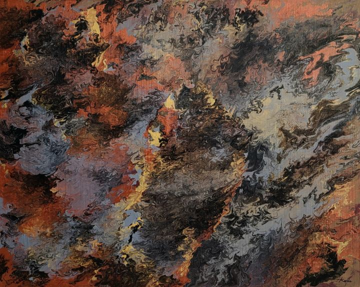"""Painting titled """"unknown"""" by So Hyon Kim, Original Art, Acrylic"""