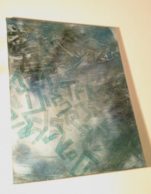 """Painting titled """"all falls"""" by Sherry Ostopick, Original Art,"""