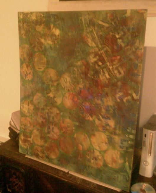 """Painting titled """"over over"""" by Sherry Ostopick, Original Art,"""
