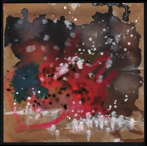 """Painting titled """"Ink abstract III"""" by Siff Skovenborg, Original Art,"""