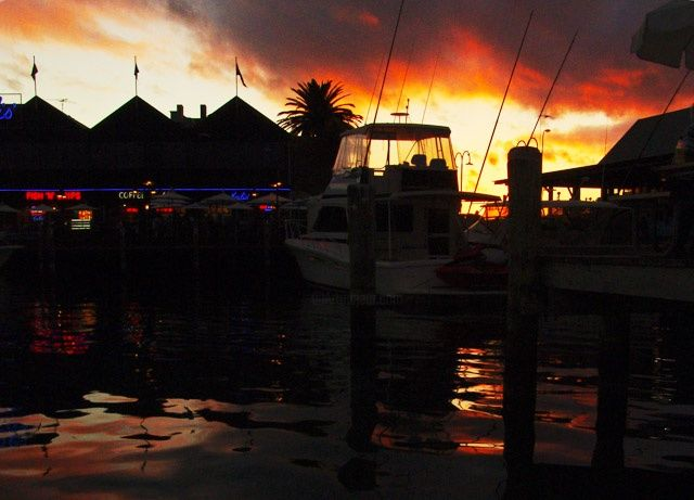"""Photography titled """"Harbour After Dark"""" by Simonboyd, Original Art,"""