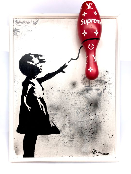 """Sculpture titled """"GIRL WITH PIN BY SU…"""" by Simone De Rosa, Original Art, Acrylic"""