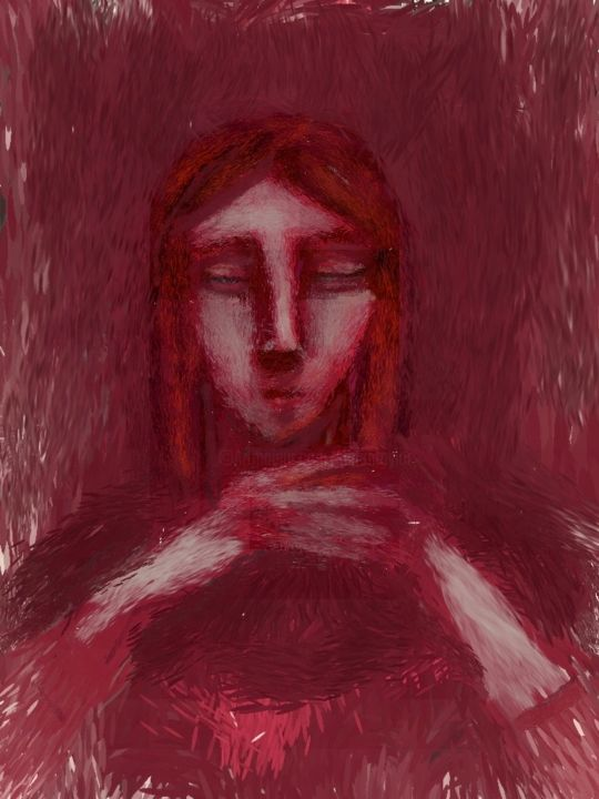 """Digital Arts titled """"thought"""" by Simon Taylor, Original Art, Digital Painting"""