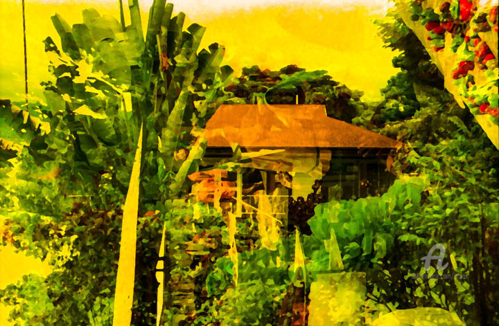 tropische stimmung (tropical mood) - Digital Arts ©2017 by sigrun neumann (sineu) -                        Asia
