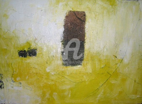 Leave Me Alone - Painting,  16x22 in, ©2007 by Sio Montera -