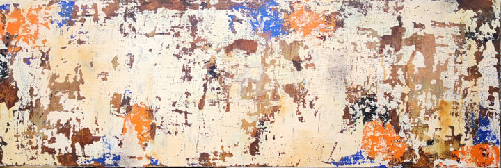 When Everything is Said and Done - Painting,  30.4x91.4 cm ©2019 by Sio Montera -