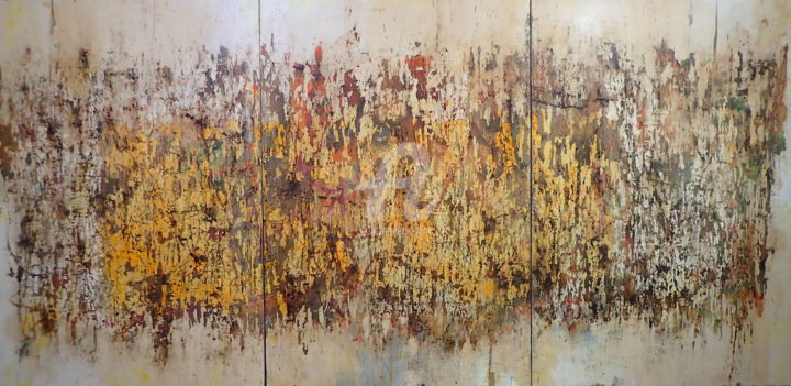 """Painting titled """"Real Chaos Has No S…"""" by Sio Montera, Original Art, Acrylic Mounted on Stretcher frame"""