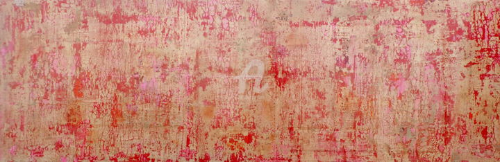 Mortality - Painting,  24x72.1x2 in, ©2020 by Sio Montera -                                                                                                                                                                          Abstract, abstract-570, Mortality
