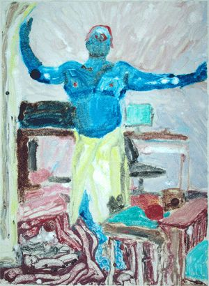 """Painting titled """"Cyclops at Home"""" by John Toxey, Original Art,"""