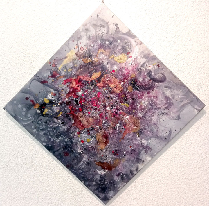 """Painting titled """""""" Unstoppable """""""" by Marco Nanni, Original Art, Acrylic"""