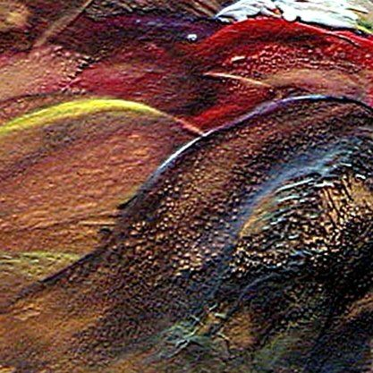 W010 - Painting, ©2011 by Dragica Micki Fortuna -                                                              abstract