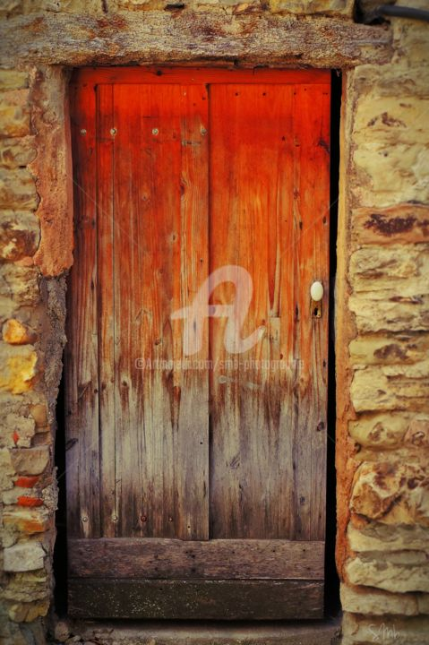 Colorful Old Door   Photography ©2015 By SMb   Minimalism, Abstract Art,  Minimalism